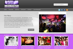 web design, wordpress, blog, dj, wedding
